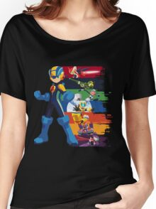 Megaman: Souls of a Hero V2 Women's Relaxed Fit T-Shirt