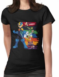 Megaman: Souls of a Hero V2 Womens Fitted T-Shirt