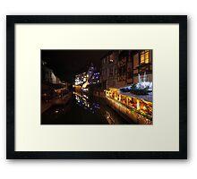 Colmar Little Venice Framed Print