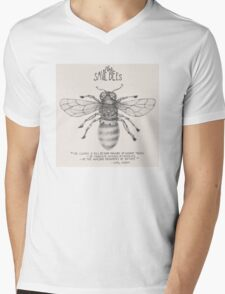 Steampunk - Save the Bees Mens V-Neck T-Shirt