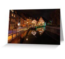 La petite Venise, Colmar, France Greeting Card