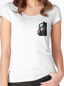Scream Horror Movie Women's Fitted Scoop T-Shirt
