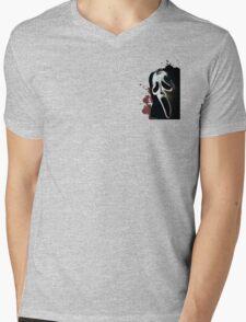 Scream Horror Movie Mens V-Neck T-Shirt