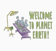 Welcome to planet Earth! by maxxxee