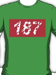 187 Bullet Holes Supreme | FreshThreadShop.com T-Shirt