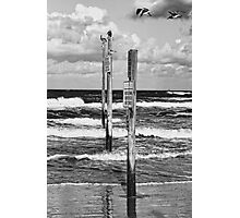 Moody Beach Day Photographic Print