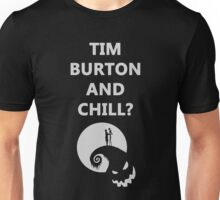 Tim Burton and Chill Unisex T-Shirt