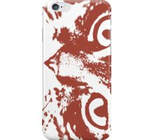 Red Tigercat iPhone Case/Skin