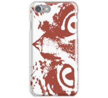 Red Tigercat iPhone Case/Skin
