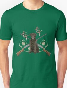 Chocolate Lab Gun dog T-Shirt