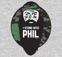 I Stand with Phil Camo Version by VintageInk