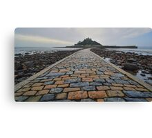 Cornwall: Causeway to the Mount Canvas Print