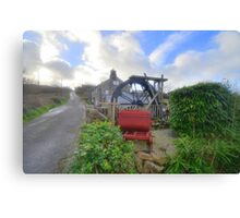 Cornwall: The Wayside Museum at Zennor Canvas Print