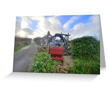 Cornwall: The Wayside Museum at Zennor Greeting Card
