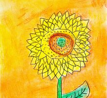 The most beautiful sunflower by Núria Talavera