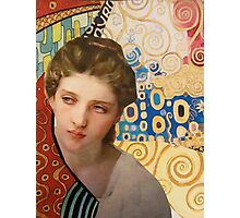 Klimt and Bouguereau  Photographic Print