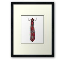 Tie of Life Framed Print