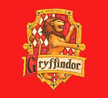 Gryffindor crest by kiddchino