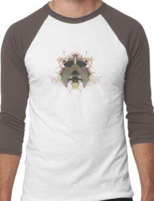 Michael Myers Halloween Mask Inkblot Men's Baseball ¾ T-Shirt