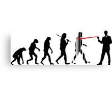 Evolution NSA Canvas Print