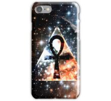 Hipster Space Ankh iPhone Case/Skin