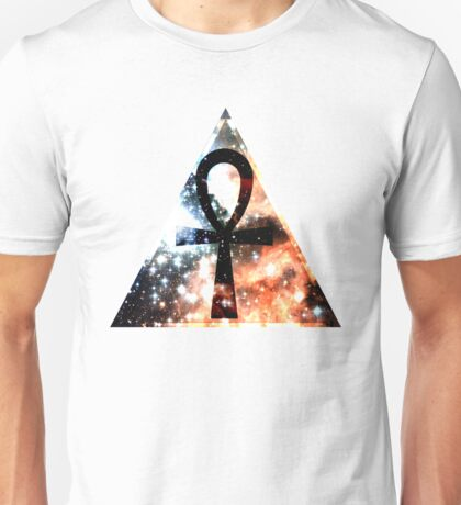Hipster Space Ankh Unisex T-Shirt