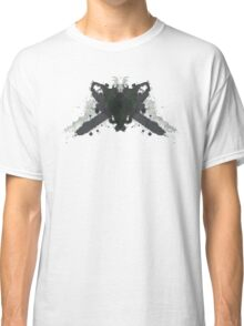 Leatherface Texas Chainsaw Massacre Inkblot  Classic T-Shirt