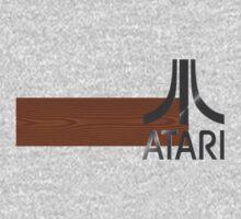 Atari Woodgrain One Piece - Short Sleeve