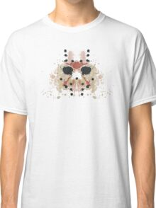 Jason Voorhees Friday the 13th Mask Inkblot Classic T-Shirt