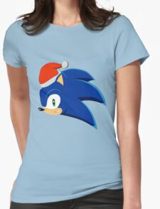 SONIC - CHRISTMAS Womens Fitted T-Shirt