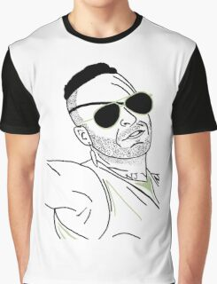 Neon Draw Werewolf Hunter Graphic T-Shirt