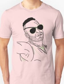 Neon Draw Werewolf Hunter T-Shirt