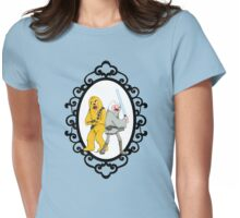 Jedi Finn & Jake the Wookie Womens Fitted T-Shirt