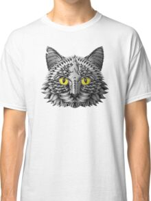 Ornate Black Cat Classic T-Shirt
