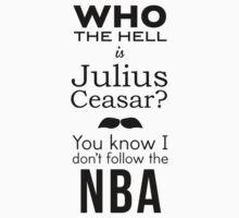 Anchorman 2 Julius Caesar T-shirt  by Ben Holmes