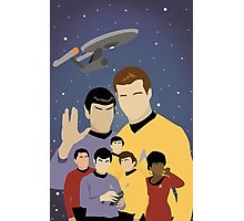 Star Trek Crew Photographic Print
