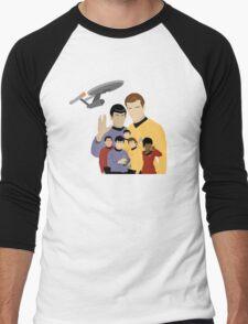 Star Trek Crew Men's Baseball ¾ T-Shirt