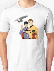 Star Trek Crew Unisex T-Shirt