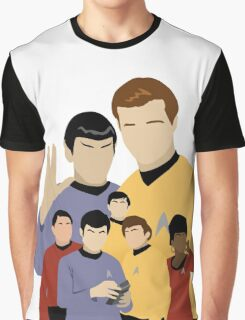 Star Trek Crew Graphic T-Shirt