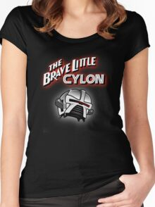 The Brave Little Cylon Women's Fitted Scoop T-Shirt