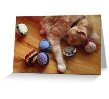 Gumbo by Catnip Balls Greeting Card