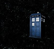 All of Time and Space- The Tardis by blublublub