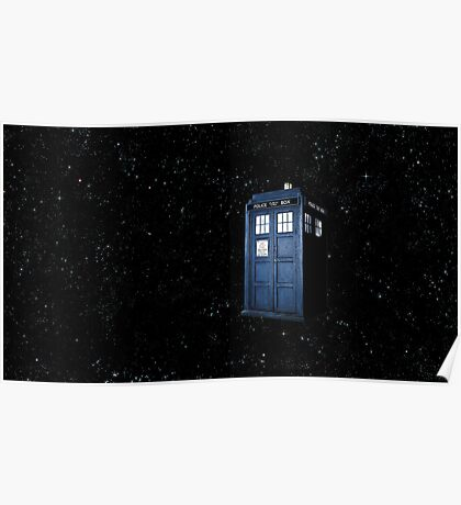 All of Time and Space- The Tardis Poster