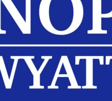 Vote Knope 2016 Sticker