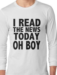A DAY IN THE LIFE Long Sleeve T-Shirt