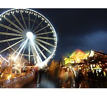 Winter Wonderland in the rain Photographic Print