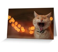 Wide-Mouthed Gumbo Greeting Card
