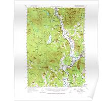USGS Topo Map  Vermont VT Guildhall 337959 1956 62500 Poster