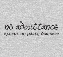 No Admittance Kids Clothes