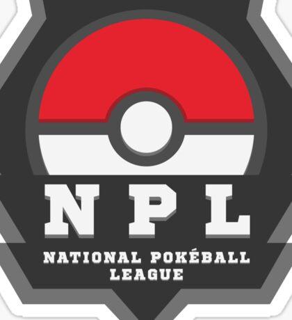 National PokeBall League - NPL Sticker